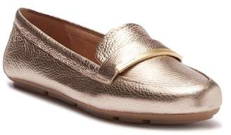 Calvin Klein Lilliana Metallic Leather Loafer