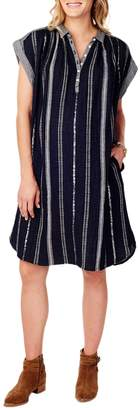Ingrid & Isabel Boxy Plaid Cotton Dress