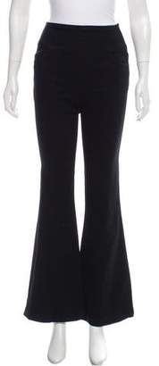 Gold Sign High-Rise Wide-Leg Jeans
