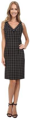 MICHAEL Michael Kors V-Neck Sheath Dress Women's Dress
