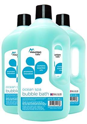 Mountain Falls Bubble Bath with Essential Oils