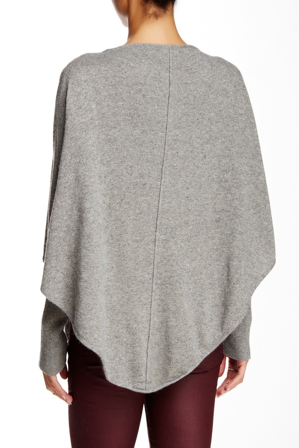 Portolano Knit Poncho Sweater 2
