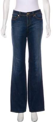 Tory Burch Classic Tory High-Rise Jeans