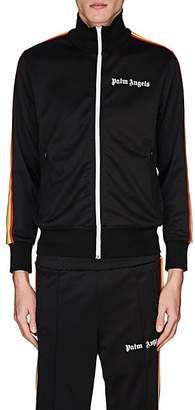 Palm Angels Men's Rainbow-Striped Track Jacket - Black