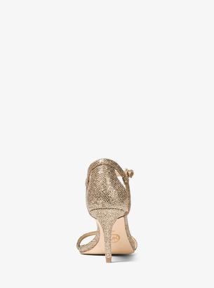 MICHAEL Michael Kors Simone Glitter Mesh Sandal
