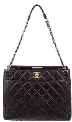 Chanel Quilted Misia Tote