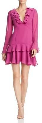 Keepsake Run Free Ruffled Mini Dress