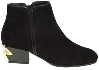 Giuseppe Zanotti Design Flat Booties Boots Women