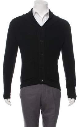 Rag & Bone Shawl Collar Button-Up Sweater