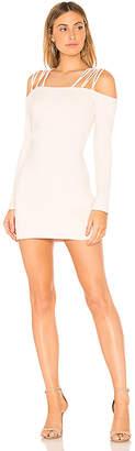 Susana Monaco Laced Off Shoulder Dress