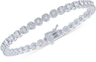 Macy's Diamond Illusion Tennis Bracelet (1/2 ct. t.w.)