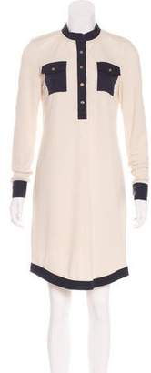 Tory Burch Knee-Length Long Sleeve Dress