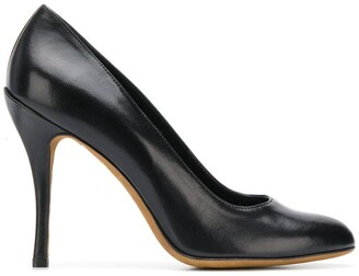 Moschino Cheap & Chic round toe pumps