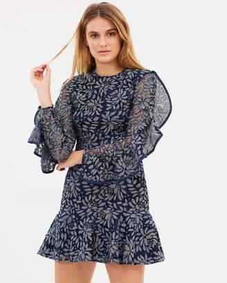 Engage Long Sleeve Lace Dress