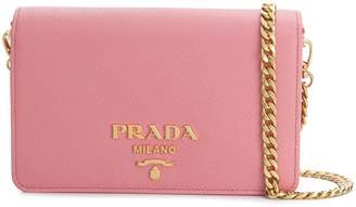 Prada mini saffiano crossbody bag