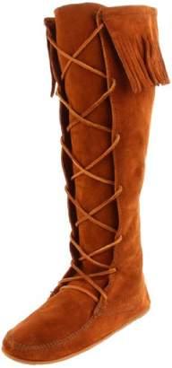 Minnetonka Women's Front Lace Knee-Hi Boot