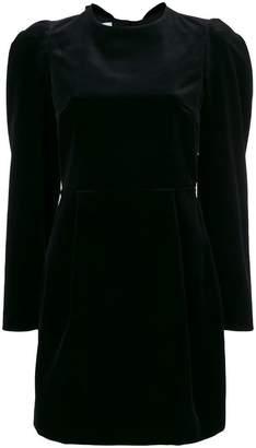 Valentino open back mini dress