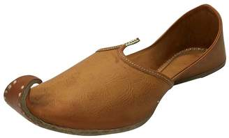 N. Step Style Mens Khussa Shoes Mojari Ethnic Boho Rajasthani Jaipuri Punjabi Jutti