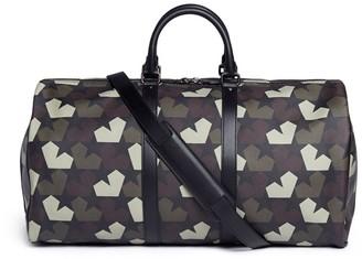 Ports 'Star Camo' print duffle bag