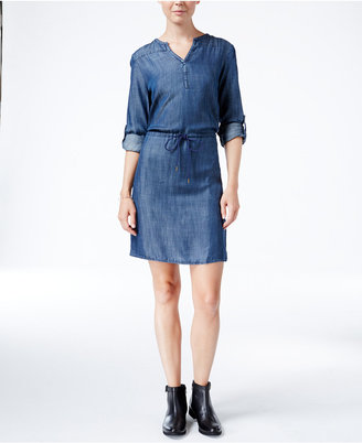 Levi's® Mitchell Chambray Shirtdress $64.50 thestylecure.com