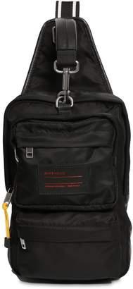 Givenchy Nylon Crossbody Bag W/ Logo Patch
