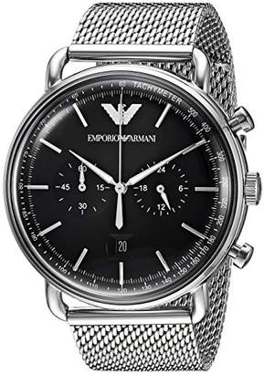 Emporio Armani Men's 'Dress' Quartz Stainless Steel Casual Watch