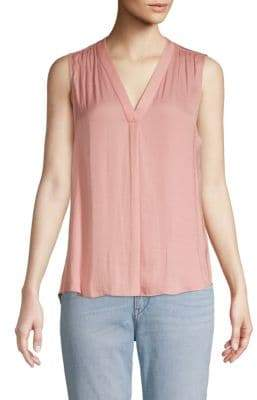 Vince Camuto Rumple V-Neck Blouse