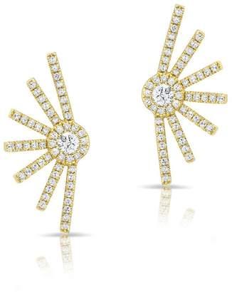 Anne Sisteron Diamond Spike Stud Earrings