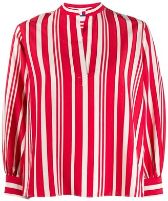 Parker Chinti & striped blouse