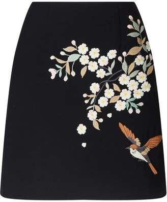 f098a74d4edac1 Ted Baker Black Zip Skirt - ShopStyle UK