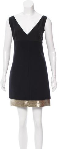 Emilio Pucci Emilio Pucci Beaded Silk Dress w/ Tags