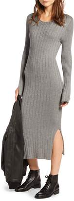 Treasure & Bond Ribbed Sweater Dress