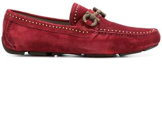 Salvatore Ferragamo studded loafers