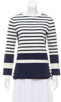 Celine Striped Long Sleeve Top