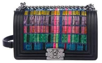 Chanel Medium Tweed Boy Bag