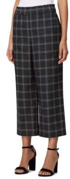 Tahari ASL Pull-On Plaid Pants