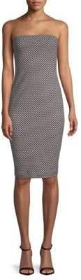 Nicole Miller Geometric Sheath Dress