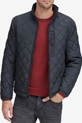 Andrew Marc Fillmore Faux Shearling Lined Diamond Quilted Jacket
