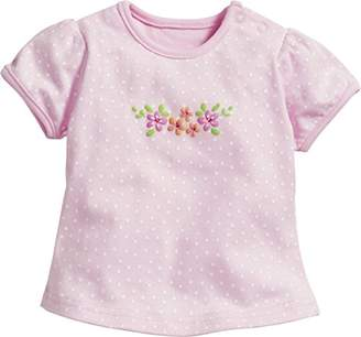 Playshoes Baby Girls' Blumen T-Shirt,(Size: 86)