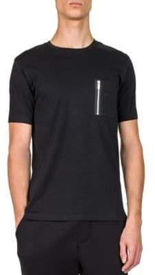 The Kooples Pocket Cotton T-Shirt