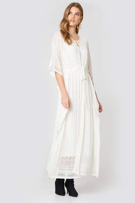 Twin-Set Twinset Abito Madreperla Lungo Maxi Dress