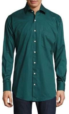 Peter Millar Printed Button-Down Shirt