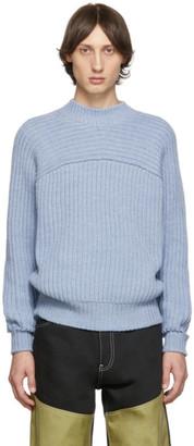 Jacquemus Blue La Maille Louis Sweater