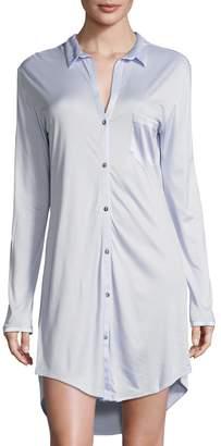 Hanro Women's Grand Central Boyfriend Shirt
