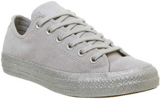 9394974097a7 Converse All Star Low Silver - ShopStyle UK