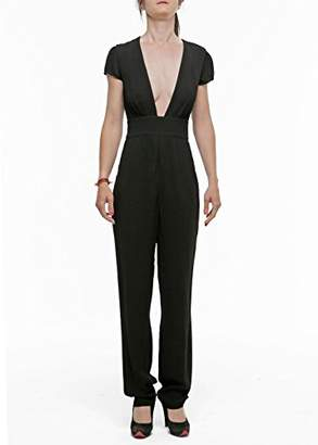 Armani Jeans Women's Short Sleeve Tube Insert Jumpsuit
