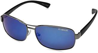 Nascar Spin 005P Polarized Aviator Sunglasses