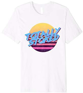 Eighties Shirts: Totally Stoked 80s Themed Shirt