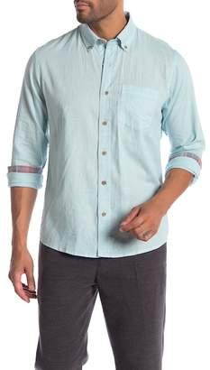 Tailor Vintage Linen Blend Regular Fit Shirt