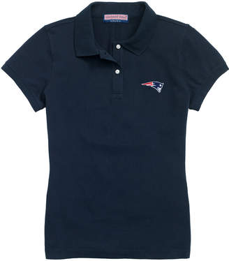 Vineyard Vines Womens Patriots Short-Sleeve Pique Polo
